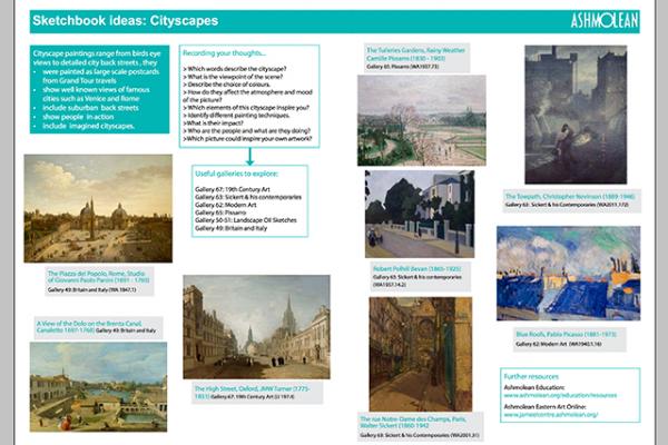 Learn PDF Sketchbook ideas Cityscapes