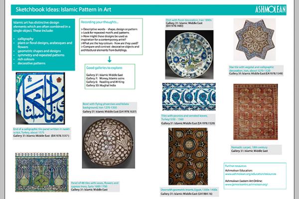 Learn PDF Sketchbook ideas Islamic Patterns in Art