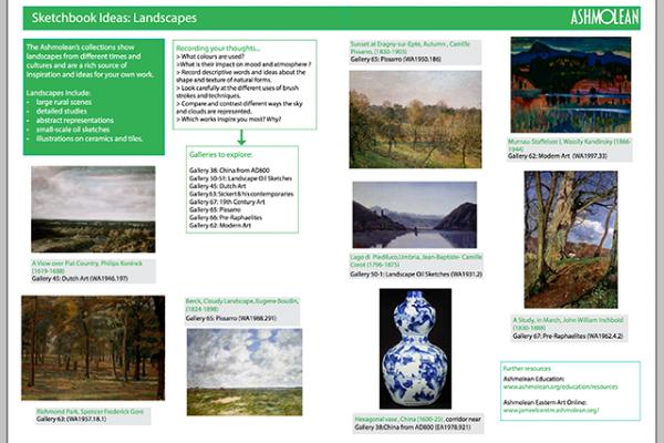 Learn PDF Sketchbook ideas Landscapes