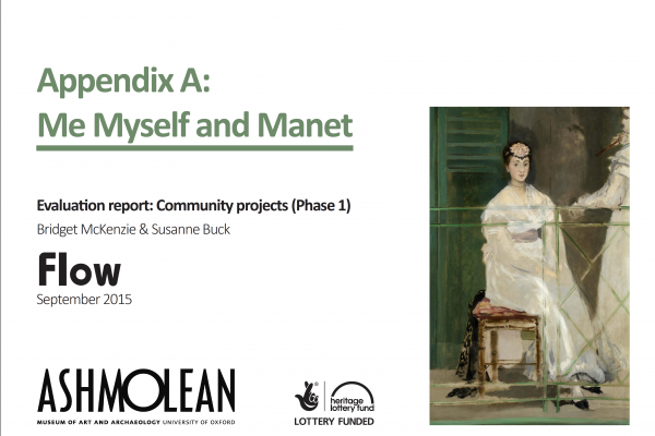 learn case studies and projects me, myself and Manet