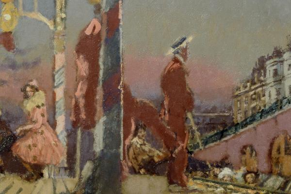 The Brighton Pierrots by Walter Richard Sickert (1860-1942)