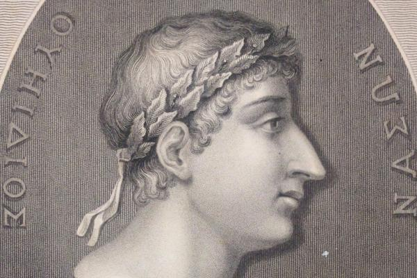 Ovid, from the Variorum Classics edition, engraved by Robert Cooper