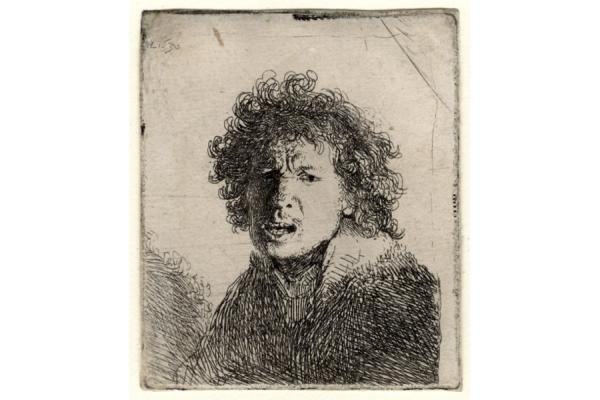 Rembrandt Exhibition Shell : Rembrandt in black and white paintings and sketches by erik van