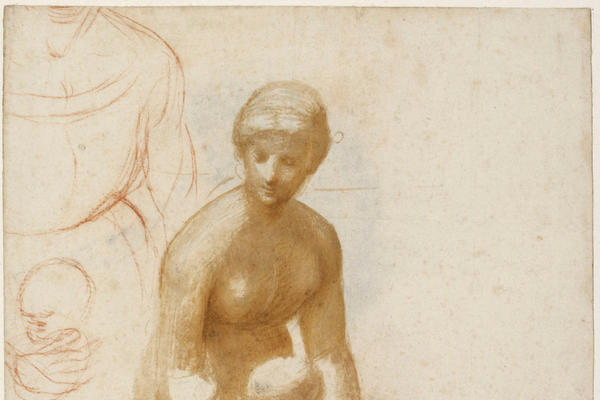 Drawing of mother and child by Raphael