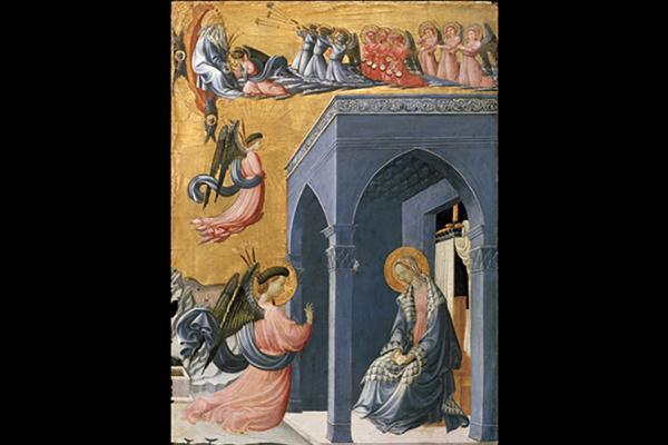 the annunciation ashmolean