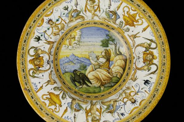 Urbino, Plate with the Vision of St John the Divine, c.1560-90
