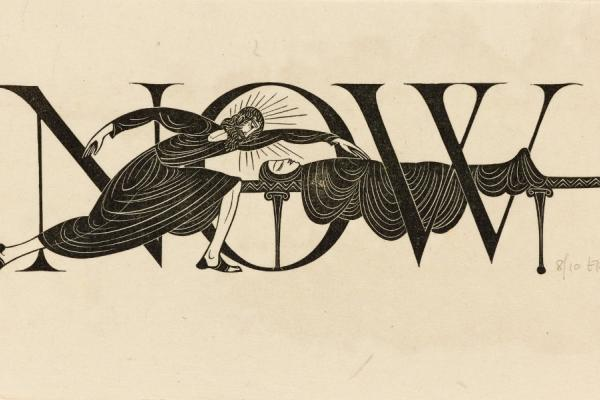 Eric Gill, The Widow's Son of Nain (NOW)
