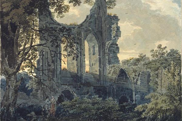Thomas Girtin, Byland Abbey, Yorkshire