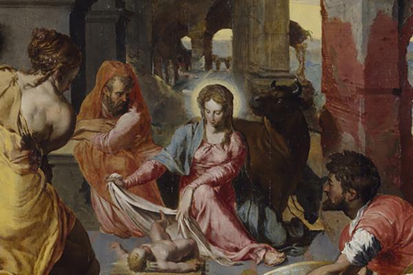the adoration of the shepherds ashmolean