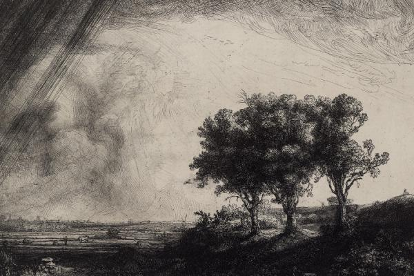 Rembrandt van Rijn, The Three Trees, 1643