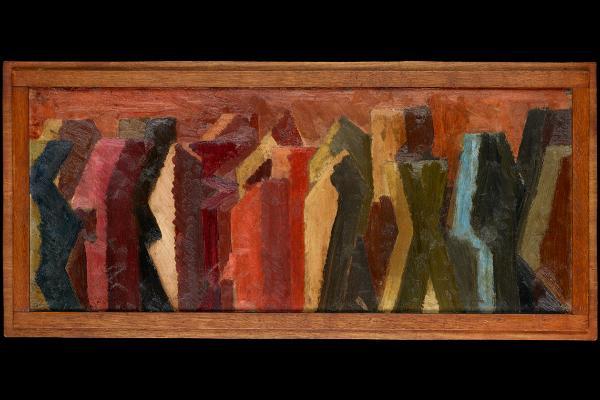 Procession, David Bomberg