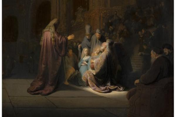 Rembrandt and Orange Talk Painting