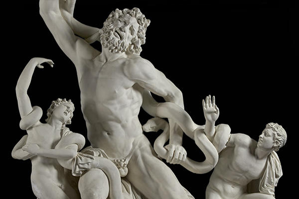 Laocoön group at the Ashmolean Museum