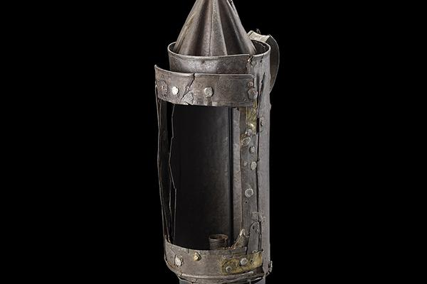 Guy Fawkes' lantern, London, England c.1605