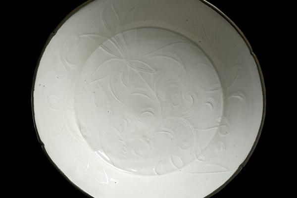 DING WARE DISH at the Ashmolean Museum