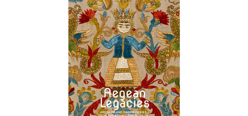 Front cover of Aegean Legacies book