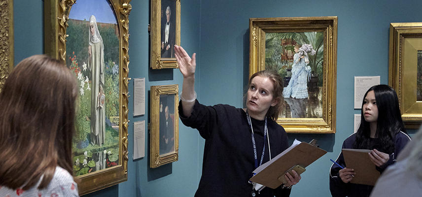 ashmolean taught sessions