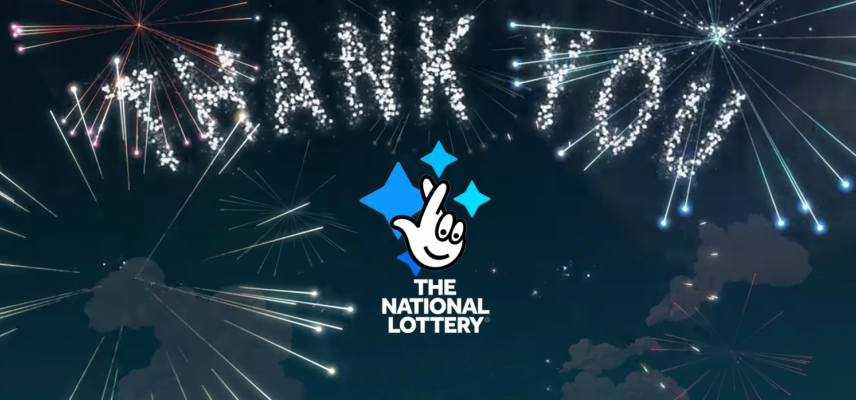 national lottery thank you