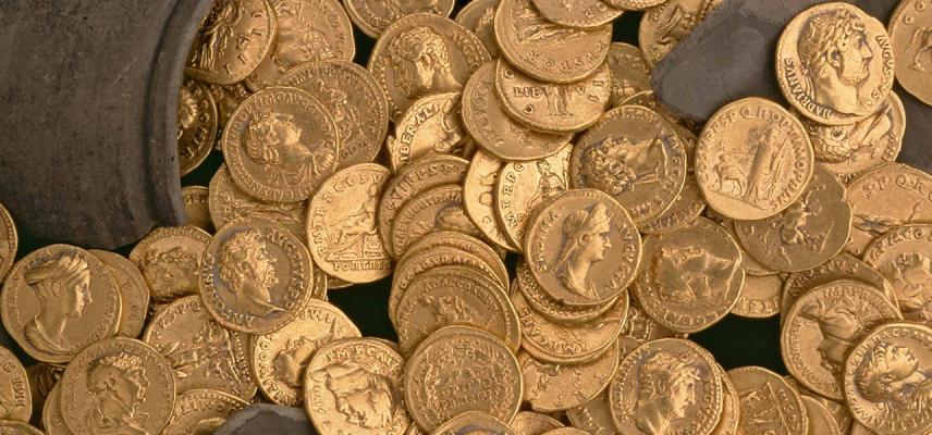 Roman gold research didcot ashmolean