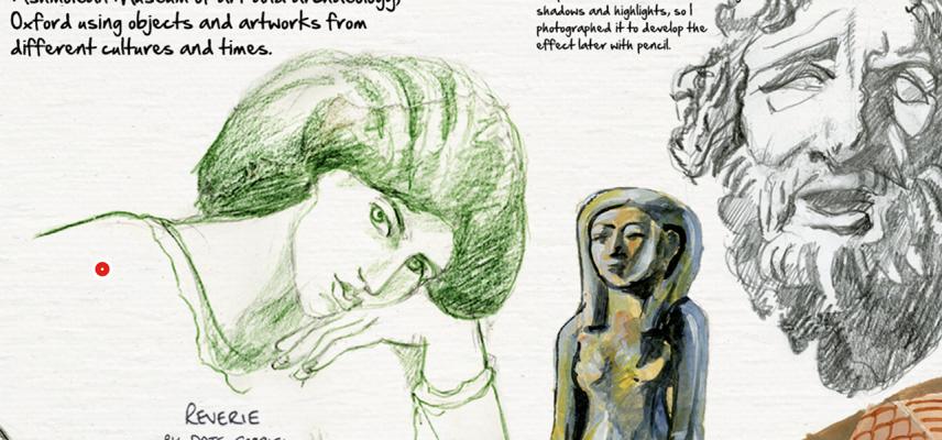 ashmolean sketchbook