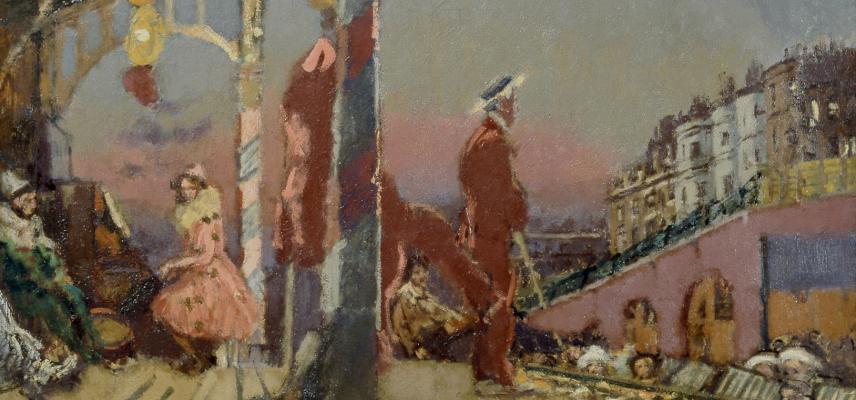 The Brighton Pierrots by Walter Richard Sickert (1860-1942)