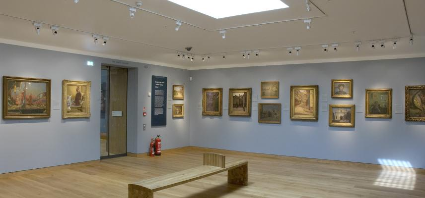 The Sickert and his Contemporaries Gallery at the Ashmolean Museum