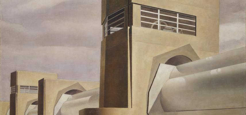 Water by Charles Sheeler, 1945. Credit: Arthur Hoppock Hearn Fund 1949
