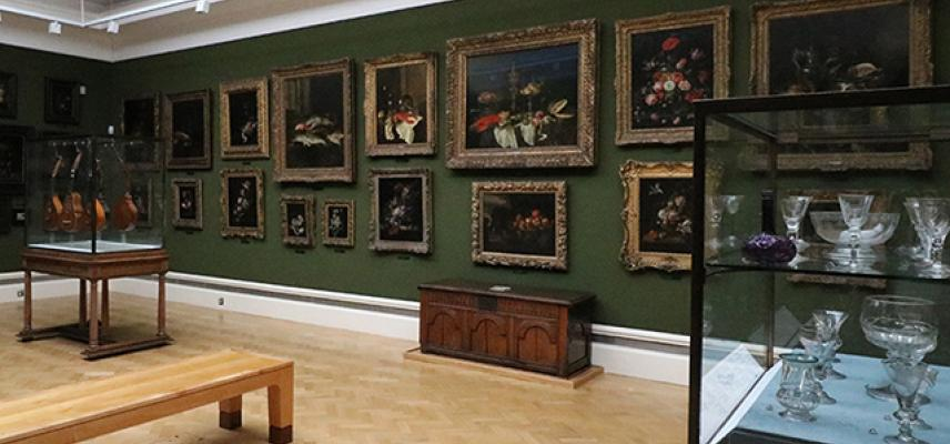 STILL-LIFE PAINTINGS Gallery at the Ashmolean