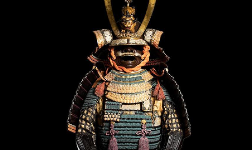 Ceremonal suit of armour for a samurai Ceremonal suit of armour for a samurai
