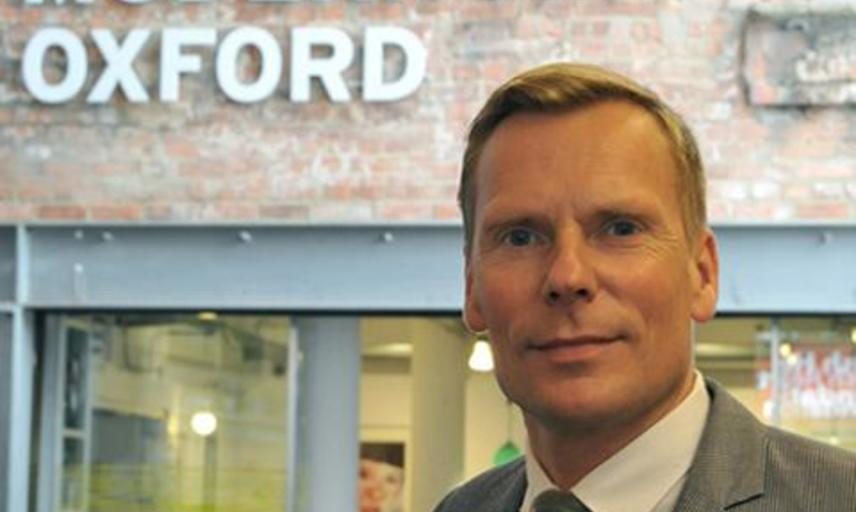 Paul Hobson, Director of Modern Art Oxford