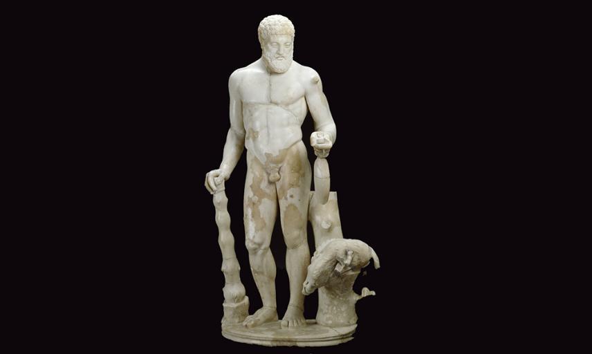 hercules statue ashmolean museum