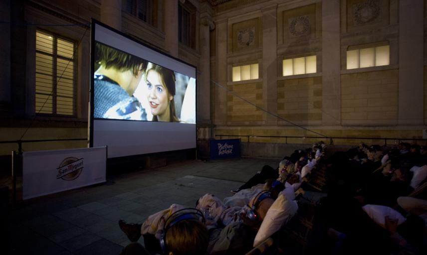 Ashmolean Pop-Up Picturehouse Cinema 2017