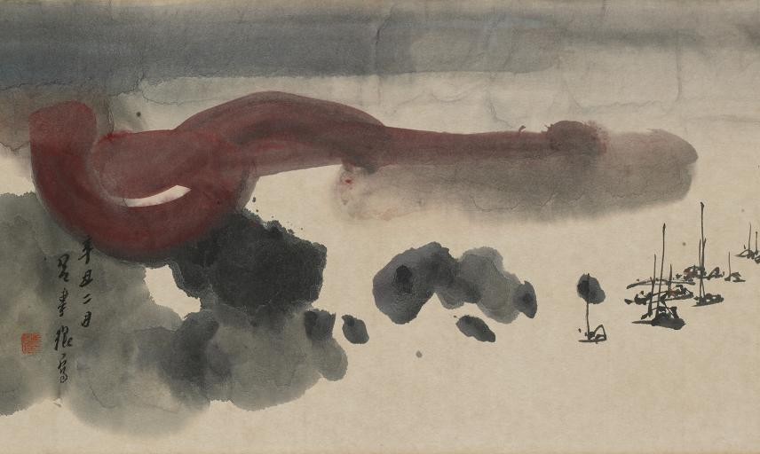 Thoughts after storm, Lui Shou-Kwan, 1961