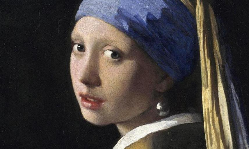 Vermeer painting of a Girl with a Pearl Earring.