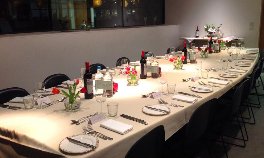 Ashmolean Venue Hire - Corporate Private Dining in the Boardroom