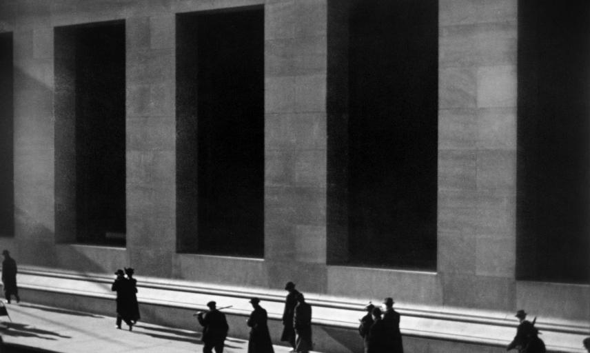 Paul Strand, Wall Street