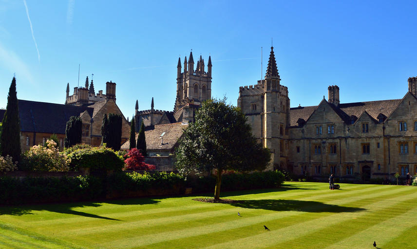 Photograph of Magdalen College, Oxford