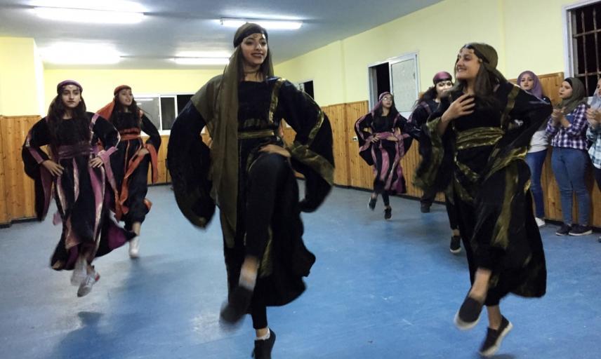 ramallah youth dance group