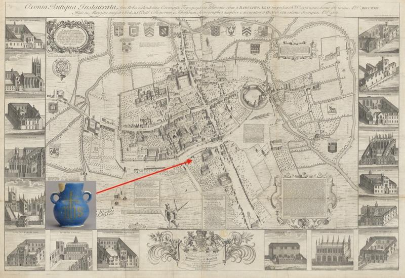 Oxford, by Ralph Agas, 1578; republished by Robert Whittlesey, 1728