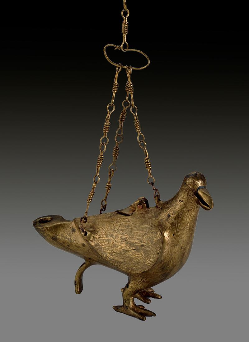 Gold Dove Lamp