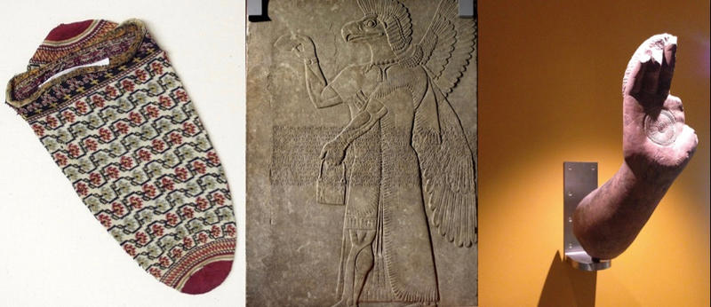Three objects used in Krasis 11, Week 1, to interrogate the colonial legacy in the Ashmolean's collections