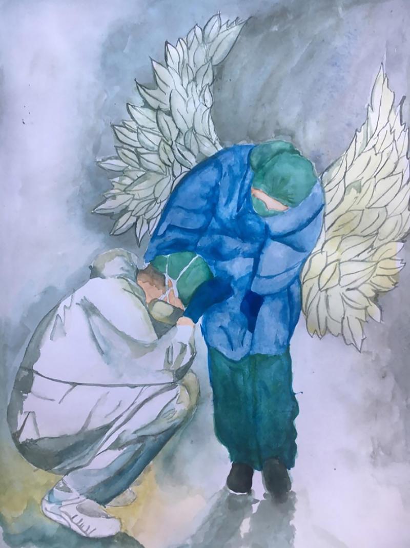 runner up  budgen tabitha  angels