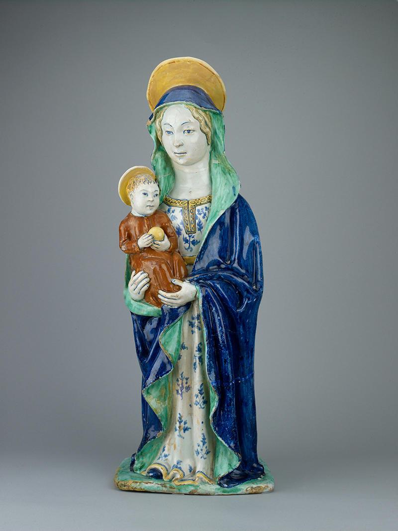 Ceramic Mary and Child