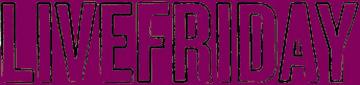 live friday logo purple