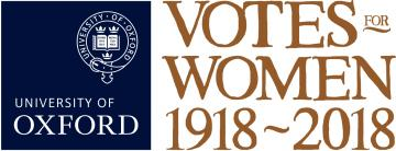 University of Oxford Votes for Women 1918–2018 logo