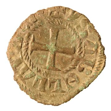 Billon coin from the Thasos excavations Ashmolean