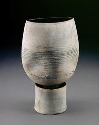 A mid-20th-century ceramic pot made by Hans Coper