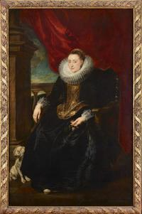 Portrait of a Woman, by Anthony Van Dyck