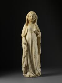 Figure of a standing woman, anonymous, French at the ashmolean museum